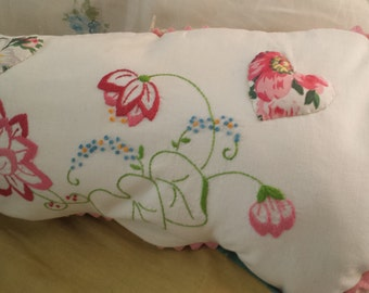 Upcycled pillowcase pillowcover