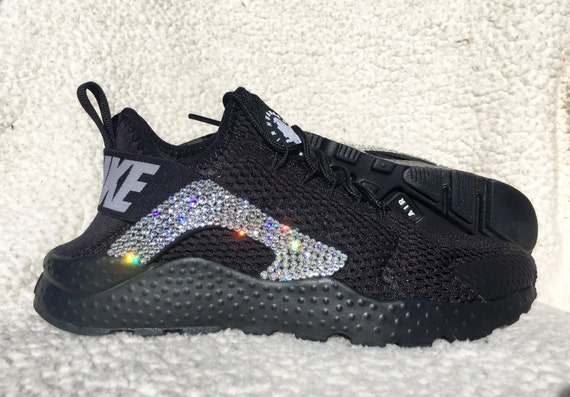Crystal Nike Air Huarache Breath Bling Shoes with by SparkleNvie outlet f925b4485d53