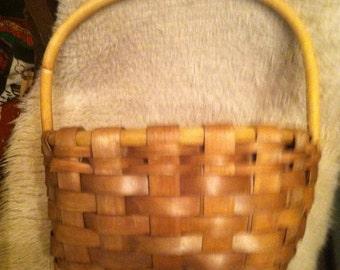 Large little riding hood large hand made   Gathering Basket
