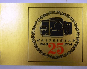 Vintage Hasselblad 25th Anniversary Booklet (1974)
