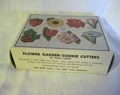Vintage Flower Garden Cookie Cutters