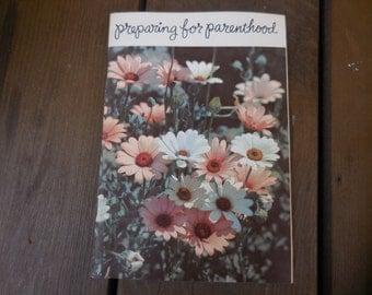 Vintage 1960s Preparing For Parenthood Booklet Pamphlet Metropolitan Life Insurance Company