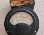 KS-5184 Milliamperes Instrument Ammeter Gauge DC