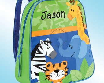 Backpack - Personalized and Embroidered - Go Go Bag - BOY ZOO