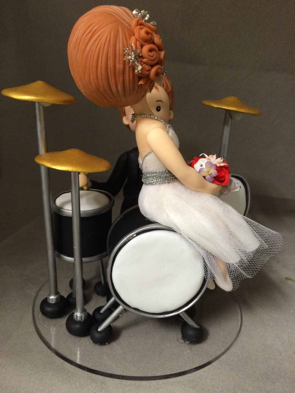 drummer wedding cake topper drummer groom wedding cake topper free shipping usa only 13755