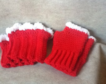 Boot Cuffs, Fingerless Gloves, & Ear Warmers