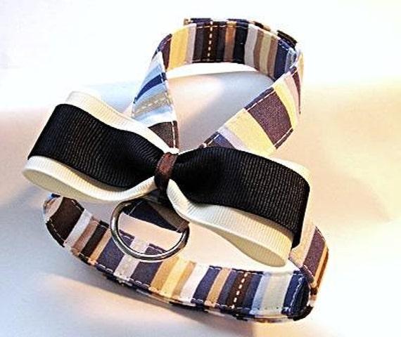 Small dog harness, velcro close James 2