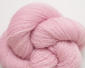 Pretty in Pink Recycled Lace Weight Cashmere Yarn, CSH00164