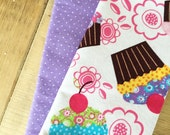 Lunchbox Napkins - Set of 2 - Cupcakes