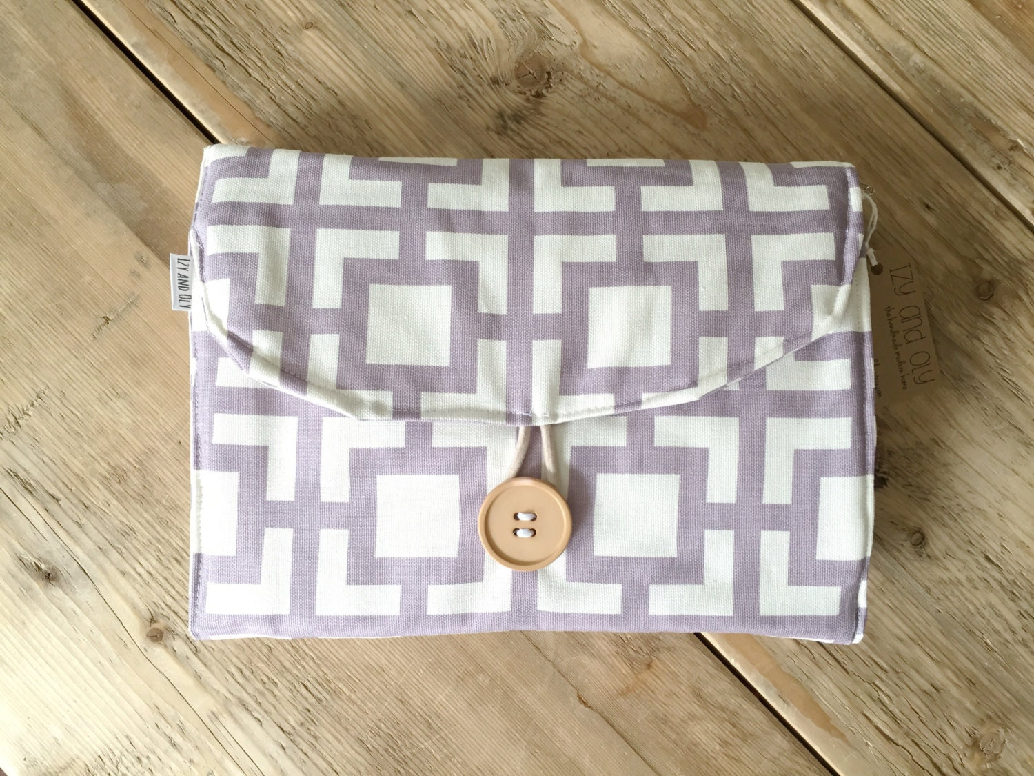diapering on the go travel changing pad purple gigi. Black Bedroom Furniture Sets. Home Design Ideas