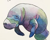 ORIGINAL - Calming Manatee