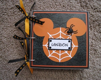 Disney Autograph Book Halloween Mickey Mouse - Room for Photos