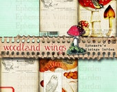 "Woodland Wings - 5x7"" Journal Page Add-On"