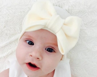NEWBORN GIRL HATS, baby hats with bow, baby girls newborn hat, baby girl hat, baby hat, newborn girl, newborn hat, girl baby newborn