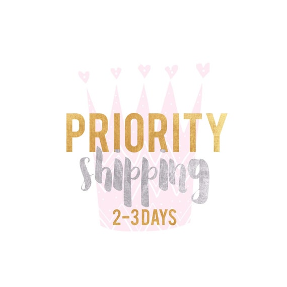 l o v e  c r u s h USPS PRIORITY Mail Shipping Upgrade 2-3 business days {Domestic}