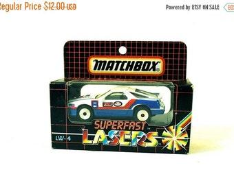 ON SALE Matchbox Superfast Laser Wheels Dodge Daytona MIB 1986