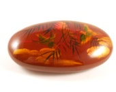 Hand Painted Rock Japanese