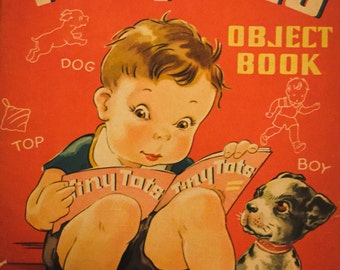 Tiny Tots Object Book 1950s