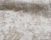 Super Soft Gorgeous Double Washed  Jacquard Linen -  Bedding, Slip covers, Table Linen - Gorgeous -6.5 ounce per square yard -  per yard