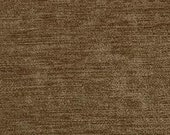 """Timeless Classic Chenille Upholstery Fabric - Durable - Washable - Soft hand - 56"""" wide - Polyester/Viscose - Color:  Timber - Per Yard"""