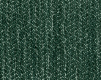 """30"""" x 55"""" - One Piece - Beautiful Natural Look - Extremely Durable Woven Jacquard Upholstery Fabric - Textured Hand - Color: Sabi Teal"""