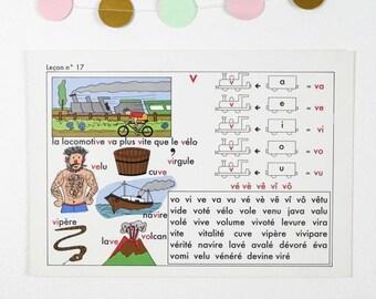 Vintage Primary School Alphabet charts, 17