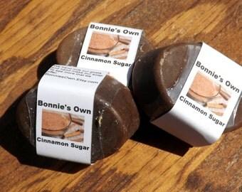 Cinnamon Sugar, 3 oz Soap Bar, Bath Soap, Goat Milk Soap, Food Scented Soap, Cinnamon Soap, Cinnamon Sugar Soap, Cinnamon Roll, Foodie Soap