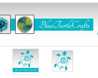 Custom Branding Shop Icon Cover Photo Avatar Etsy Banner