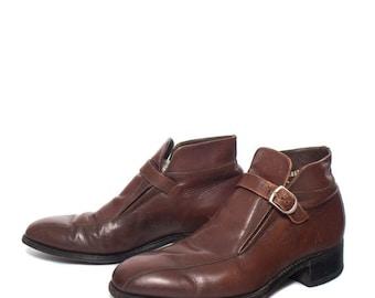 40% Off Sale 7 D | Men's Florsheim Imperial Monk Strap Ankle Boots