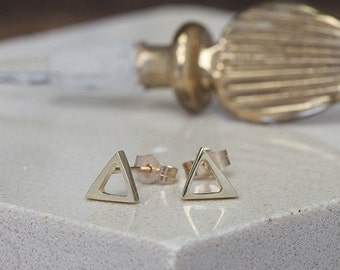 Nova Gold Geo Earrings