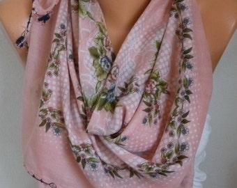 Turkish Anatolians Floral Cotton Scarf, Summer Yemeni, Oya,Cowl Scarf Shawl Gift Ideas For Her Women Fashion Accessories Bridesmaid Gift