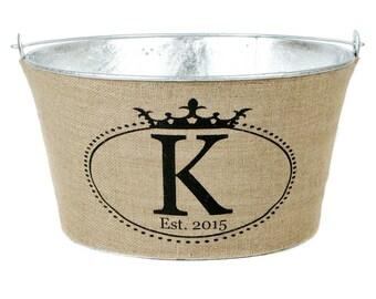 Crown Monogram Wine Tub