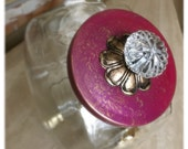 Pretty in Pink & Gold Cookie Jar by: Countertop Couture