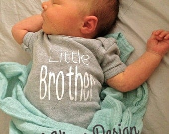 Ready to ship: Little Brother Onesie or Shirt