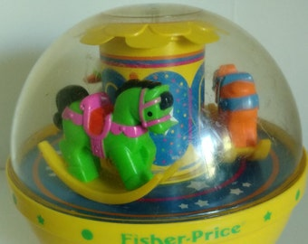 Fisher Price Rolly Polly Chime ball for children