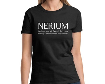 Personalized Nerium Ladies Fit Tee