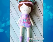 Personalized custom made doll great easter Birthday Large 18""