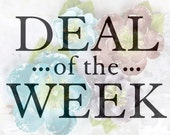 "Deal of the Week - Oceana Tatiana 566371 - fabric flowers 1.5"" - 2.5"" - (4 pcs) - Limited Quantity Special Price Offer"