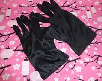 Black Cosplay Gloves