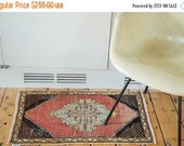 HAPPY SUMMER 10% OFF Discounted 1.5x2.5 Distressed Oushak Rug Mat