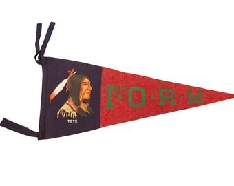 Headdress Tote Felt Flag