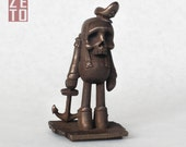 Captain Zeto Limited Edition Bronze Toy collectible