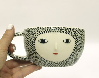 Spotty cup