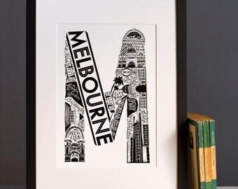 Melbourne, Australia print