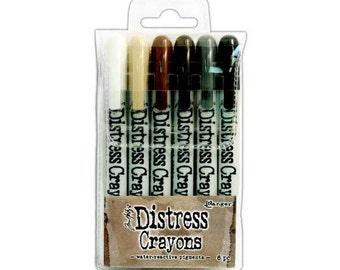 DISTRESS CRAYONS - Set #3 - Ranger Ink - Tim Holtz