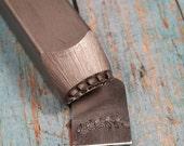 Caesar Branch Border Stamp, Beaducation Brand Design Stamp, DIY Metal Stamped Jewlery Tools, Supplies. Alphabet Stamp, Metalworking