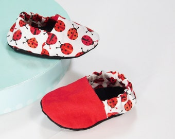 Baby Slippers Booties Shoes - Reversible