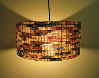 Lighting Chandelier Pendant Lamp Lampada Coffee Filter Art
