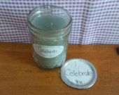 "8oz Candle CELEBRATE ""Candles for St. Christopher's Children's Hospital"""