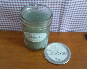 """8oz Candle CELEBRATE """"Candles for St. Christopher's Children's Hospital"""""""